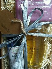 Patchouli Gift Set with Bath Oil, Aromatherapy Spray & Savon de Marseilles Soap