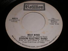 Edison Electric Band: West Wind / Ship Of The Future 45