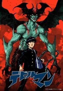 DEVIL MAN DEVILMAN GO NAGAI DYNAMIC PRODUCTION TAKESHI MIYAZAWA POSTER SIGNED