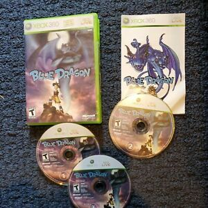 Blue Dragon —  (Microsoft Xbox 360, 2007)  complete game tested  free shipping