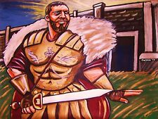 Gladiator Movie Print poster russell crowe man cave ancient rome history sword