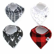 The Good Baby Bandana Drool Bibs – 4 Pack Baby Bibs Gift Set for Boys