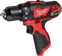 """Milwaukee 2407-20 NEW M12 Cordless 3/8"""" Drill/Driver BARE TOOL"""