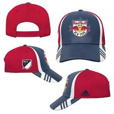 New Licensed MLS New York Red Bulls Soccer YOUTH Size Adjustable Hat __B109