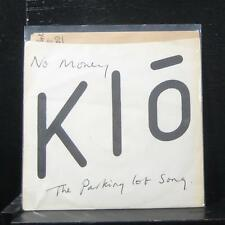 "Klo - No Money / The Parking Lot Song 7"" Mint- PRKS 001 Vinyl Rare Canada Punk"