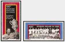 Timbres Sports Football Congo PA143/4 * lot 28149