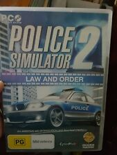 Police Simulator 2 -  PC GAME - FREE POST *