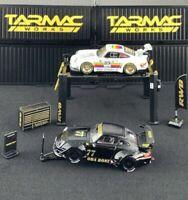 Tarmac Works 1/64 Garage Tools Set RWB - Stickers Included T64A-001-RWB