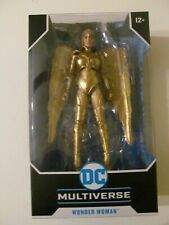 New listing McFarlane Toys - Dc Multiverse - Wonder Woman (Golden Armor) - Sealed