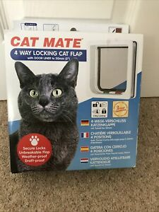 Catmate 4 Way Locking Catflap - Contents Unused ( New Other)