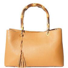 Borsa a mano Cuoio Pelle Leather Handbag Bag Italian Made In Italy 9139 ta