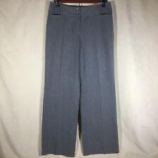 Ann Taylor Loft Pants Sz 6P Petites Gray Dressy Slacks Trousers Julie Career