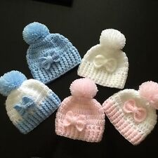 Stunning Handmade Baby Hats** Must See ***FREE POSTAGE