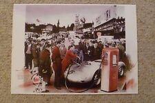 1959 Porsche RSK Spyder Showroom Advertising Sales Poster RARE!! Awesome L@@K