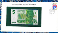 Banknotes of All Nations Netherlands 5 gulden 1973 P 95 UNC 2485
