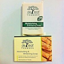 Thanaka moisturizing & whitening soap with turmeric, vitamin B3, vitamin E 100g