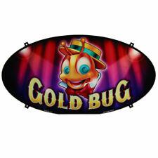 Topper Plexiglass, Oval, Gold Bug - Bally Alpha (C887-215684-041510)