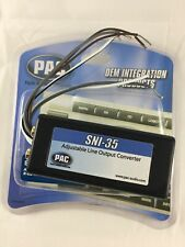 Pac Sni-35 Line Output Converter for Factory Radio with 2.40W Max per Channel