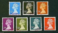 GB Stamps 26-9-1989 Machin Definitive Issue set - Fine used