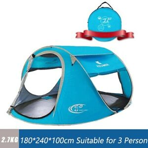 Tent Beach Camping Up Pop Outdoor Shelter Sun Portable Canopy Shade UvProtection