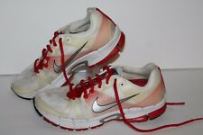 Nike Zoom Victory + Running Shoes, #324904-141, Wht/Red/Silver, Womens US 7.5
