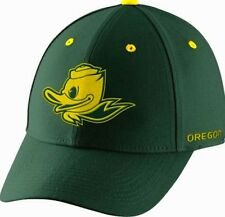 "Nike Oregon Ducks Mascot UO Green Dri-FIT Swoosh Flex Hat ""Free Shipping in USA"""