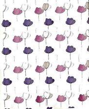 Micasa Clod Lila Rosa Textil Duschvorhang 180 x 180 cm. Hochwertige Markenware