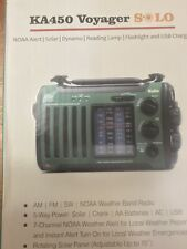 Kaito Voyager KA450 Solar Radio with Weather Band & LED Flashlight NEW IN BOX