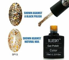 BLUESKY UV LED Soak Off Smalto SP13 Oro Bronzo 10 ML