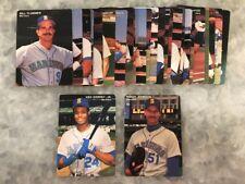 1992 Mothers Cookies Baseball Card SGA Set Seattle Mariners -- Griffey, Johnson