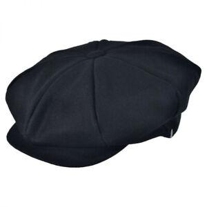 Jaxon Hats Wool Blend Solid Big Apple Cap