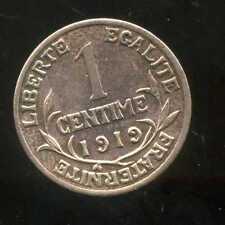 FRANCE FRANCIA 1 CENTIME DUPUIS 1919  ( 2 )