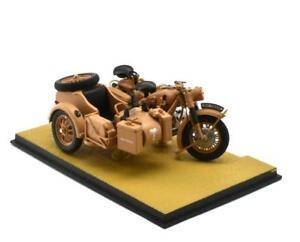 ATLas 1/24  Motorcycle BMW R75 & Sidecar WWII Deutsches Afrika Korps German Army