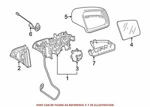 New Genuine Mercedes-Benz Lower Cover Right OE 1668100415