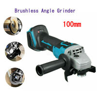 4inch Cordless Brushless Angle Grinder 18V Tool Grinding Machine Bracket Wheel