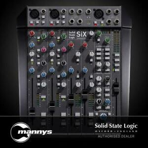 Solid State Logic SSL SiX Ultimate Desktop Mixer w/ SuperAnalogue & G-Bus Comp