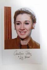 "DOCTOR WHO - Female Actor Caroline John 6""X4"" Autograph Reprint Photo Colour Pic"