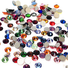 144 Swarovski 2058 crystal rhinestones flatback ss10 mix