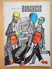 1954-IL BORGHESE-Direttore LEO LONGANESI-Anno V, Numero 24