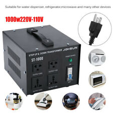 1000W Watt Heavy Duty Step Up/Down Voltage Converter Transformer 110V TO 220V OY