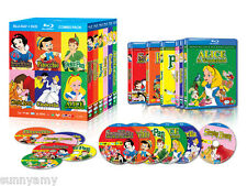 Disney Boxset - 6 Films on Blu Ray + DVD = 12 Discs [NEW] Alice Peter Pinocchio