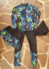 Wassersport* Leggins-Short-Badehose-Langarmshirt *Damen/Mädchen* Gr.170/S* Neu