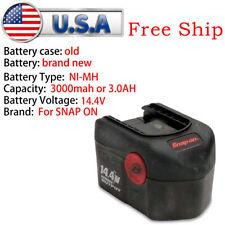 Refurbished Battery For Snap-on 14.4 Volt Battery CTB4145 DIY REPACK 3.0Ah NiMH
