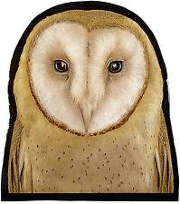 Owl stained glass fragment, kilnfired, owl suncatcher, owl stained glass, owl