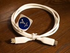 NEW WD Western Digital 9 to 6 Pin 800 to 400 White FireWire Cable