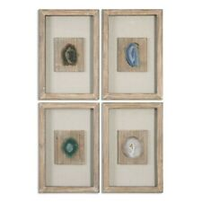 Uttermost Agate Stone, Set of 4 - 14499