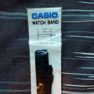 Casio watch strap 16mm rubber