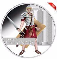 2010 GREAT WARRIORS ROMAN LEGIONARY 1oz Silver Proof Coin