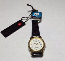 NOS 1990's Citizen Ladies Leather Watch Ref. EU0392-07C