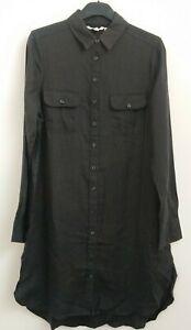 SHIRT DRESS  linen Over Shirt Ex FAT FACE SIZE 8 FINAL CLEARANCE